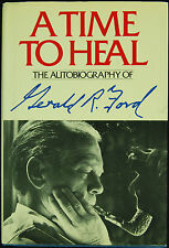 "Gerald Ford Signed ""A Time To Heal"" Book (JSA)"