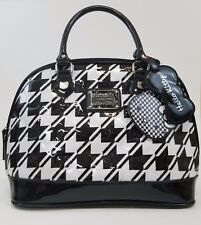 Hello Kitty Loungefly Purse Faux Leather Dome Bag Carry On Luggage Black/White
