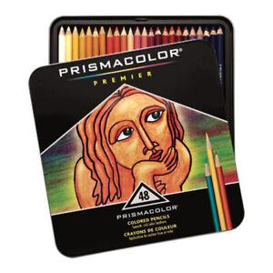 [Prismacolor] Premier Soft Core Colored Pencils 48 Multi Colored Pencils Set