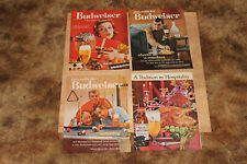 Lot of 7 Vintage 1960s Ads Retro Budweiser Hamms Miller Beer Full Page Magazine