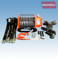 Hydraulik Winde 6804kg winchmax Original orange Winde + Dyneema Seil Synthetisch