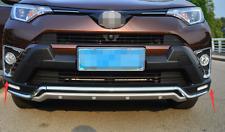 Para Toyota RAV4 2016-2018 Lámpara Luz Antiniebla Delantera moldeado Recortar Cubierta ABS Cromo