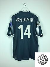 Ajax Van Damme #14 * * emitida match 03/04 C/L Lejos Camiseta De Fútbol Jersey (XL)