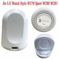 Kabellos Ladegerät Dockingstation Stand für LG Watch Style W270 Sport W280 W281