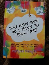 How Many Times Dp I Have To Tell You By Rachel Carman