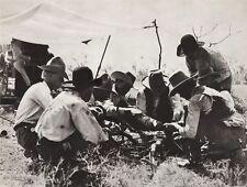 1908/52 Vintage WESTERN COWBOY Food Dinner BBQ Rib 11x14 Photo Art ERWIN E SMITH