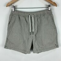Industrie Shorts Mens Small Grey Elastic Waist Drawstring