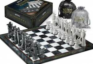 Noble Collection Harry Potter Wizard Chess Set Official Warner Brothers Game