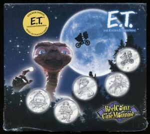 2002 E.T. Extra-Terrestrial Reel Coinz Set Royal Canadian Mint