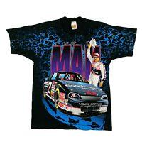 Vtg Rare NASCAR #3 Dale Earnhardt All Over Print T Shirt. Mens Medium