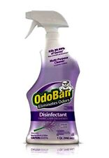 OdoBan Disinfectant Multi Purpose Fabric Air Surface Lavender Scent One 32oz Btl