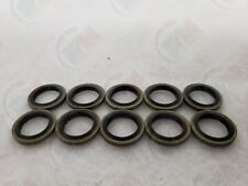 10 Pack - Metal-Rubber Oil Drain Plug Seal Washers MR21 for Various Vehicles
