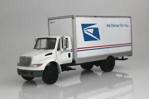 USPS Mail Delivery Box Truck International Durastar 1:64 Scale Diecast Model