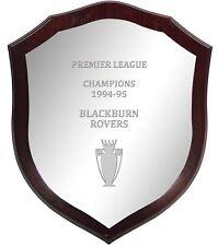 Premier League Champions Blackburn Rovers 1994-95, Large Wooden Football Shield