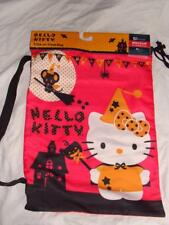 NEW CUTE HELLO KITTY HALLOWEEN POLYESTER TRICK OR TREAT BAG SACK SHOULDER STRAP