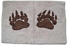 Paw Bath Mat Soft Rug Bathroom Shower 50cm x 80cm Bear Dog Animal Claw Washable