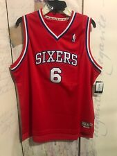Mitchell & Ness Philadelphia 76Ers 6 Irving YOUTH Extra Large Red Jersey