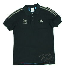 "Adidas London 2012 Olympics Polo Shirt Medium 19"" Pit To Pit"