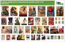 DioDump DD078-E Italian / Italy political & commercial media posters ww2 1:35