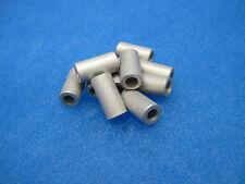 "(10) Aluminum Round Spacers: #8 (5/8"" Long x 5/16"" OD); HH Smith/Abbatron 9390J"