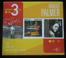 Robert Palmer Original 3 CDS Box Still Sealed 2003 Clues  Double Fun  Some