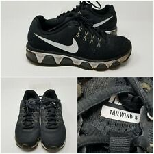 Nike Air Max Tailwind 8 Black Mesh Running Athletic Shoe Sneaker Womens Size 6.5