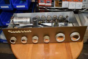 Heathkit Model WA –P2 Mono Audio Tube Pre Amplifier
