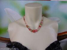 Versilberte Echte Edelstein-Halsketten & -Anhänger mit Cabochon