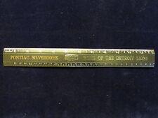 """Vintage Pontiac Silverdome Stadium NFL Detroit Lions Fan Gift 12"""" Ruler 30cm  A3"""