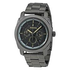 Fossil Men's FS5172 Machine Chronograph Gunmetal Stainless Steel Watch