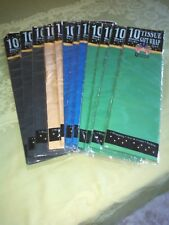 Gift Wrap Tissue Paper 12 packs 10 sheets each Arts and crafts