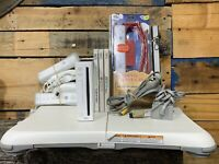 Nintendo Wii Console Bundle w/ Wii Fit Balance Board, 2 Remotes 3 Games More!