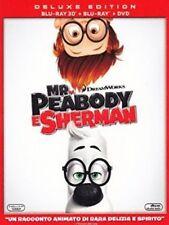 MR. PEABODY E SHERMAN  3D   BLU-RAY + BLU-RAY 3D + DVD