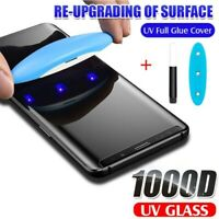 UV Liquid Glue 1000D Tempered Glass For iPhone 12 Pro Max Screen Protector