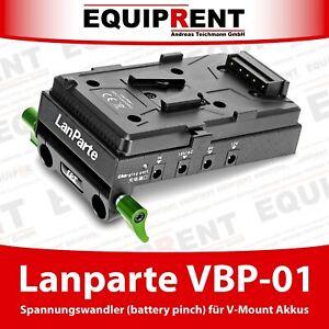 Lanparte VBP-01 V-Mount Spannungswandler (battery pinch) für 15mm Rods (EQ481)