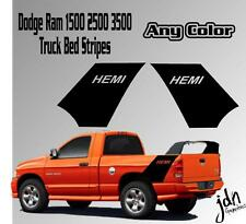 Dodge Ram 1500 2500 Daytona Style Vinyl Decal Sticker Graphic Truck Bed Hemi