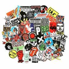 USA saler 100PCS Rock band sticker Rock and Roll Music Sticker Vinyl Waterproof