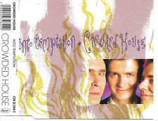 CROWDED HOUSE - Into temptation CD SINGLE 3TR Holland 1988 (Capitol)