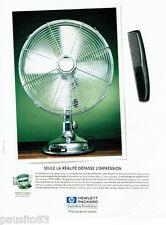PUBLICITE ADVERTISING 036  1999  Hewlett Packard  imprimante HP deskjet