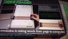 Oberon O-R/1 omni-lecteur vintage & rare 1985 ocr scanner