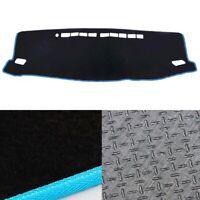 Anti-Slip BL Dash Mat Cover BL w/ Blue Stripe for 09/2015~2019 Toyota Fortuner