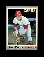 1970 Topps Baseball #503 Dal Maxvill (Cardinals) NM
