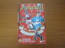 Arsenal v Manchester United - FA PL - Season 1997 - 98 (VGC).