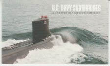 USA  Markenheft  US Navy Submarines  -  Unterseebote   ** (mnh)