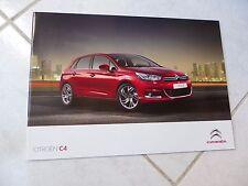 Citroen C4 2011 36p ventas folleto prospekt catálogo