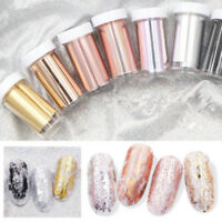 Holographic Nail Foil Transfer Sticker Manicure Nails Art Decorations New