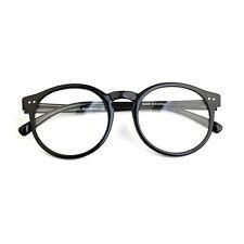 1920s Vintage Eyeglasses Oliver Retro 41R82 Black Round Frames Eyewear rubyruby