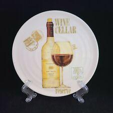 Wine Cellar Reserve Plate Italy Ceramica Cuore Napa Valley Merlot 1967 Vineyard