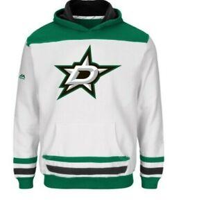NHL Dallas Stars Hooded Sweatshirts Youth Sizes NEW