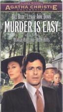 VHS:  AGATHA CHRISTIE'S MURDER IS EASY.......BILL BIXBY-LESLEY-ANNE DOWN